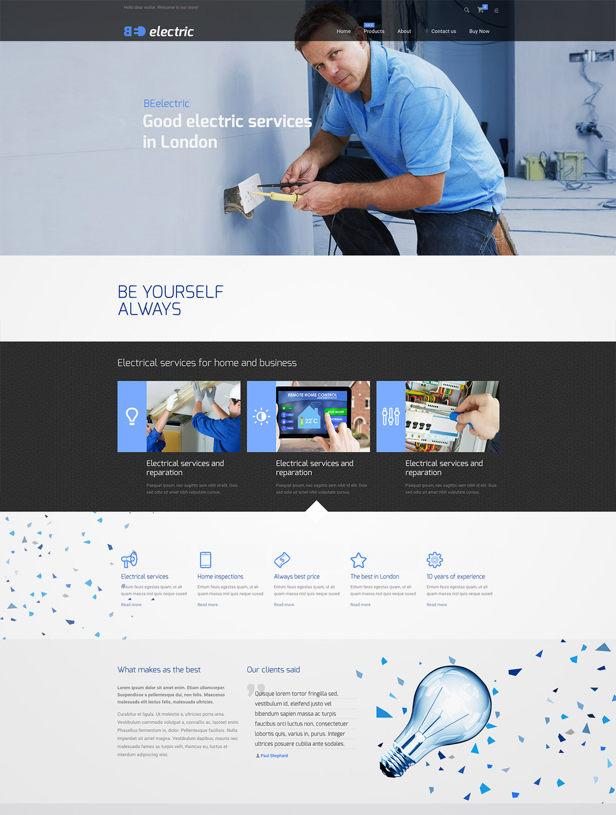 multipurpose theme responsive