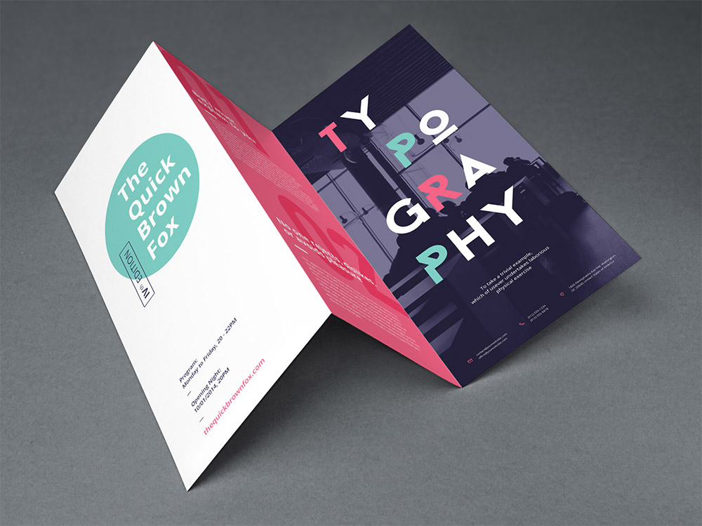 Free Brochure Templates For Designers To Have  Naldz Graphics