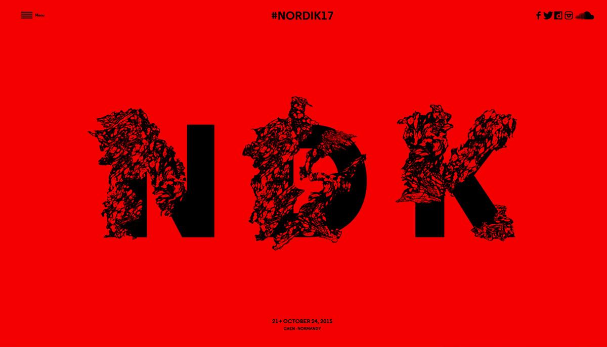 minimal web typography