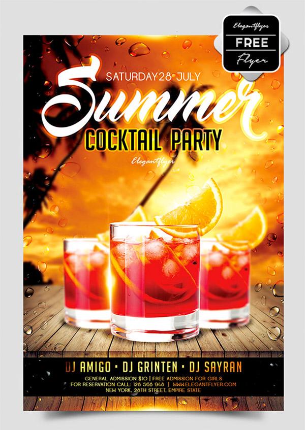party beach flyer