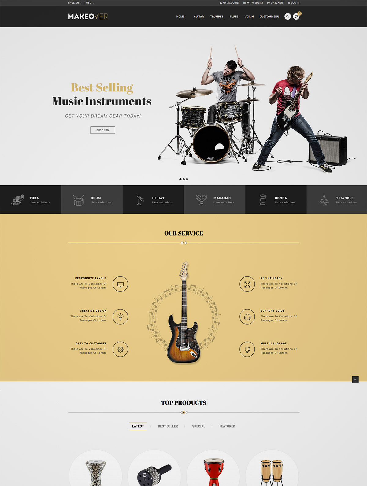 magento layout theme
