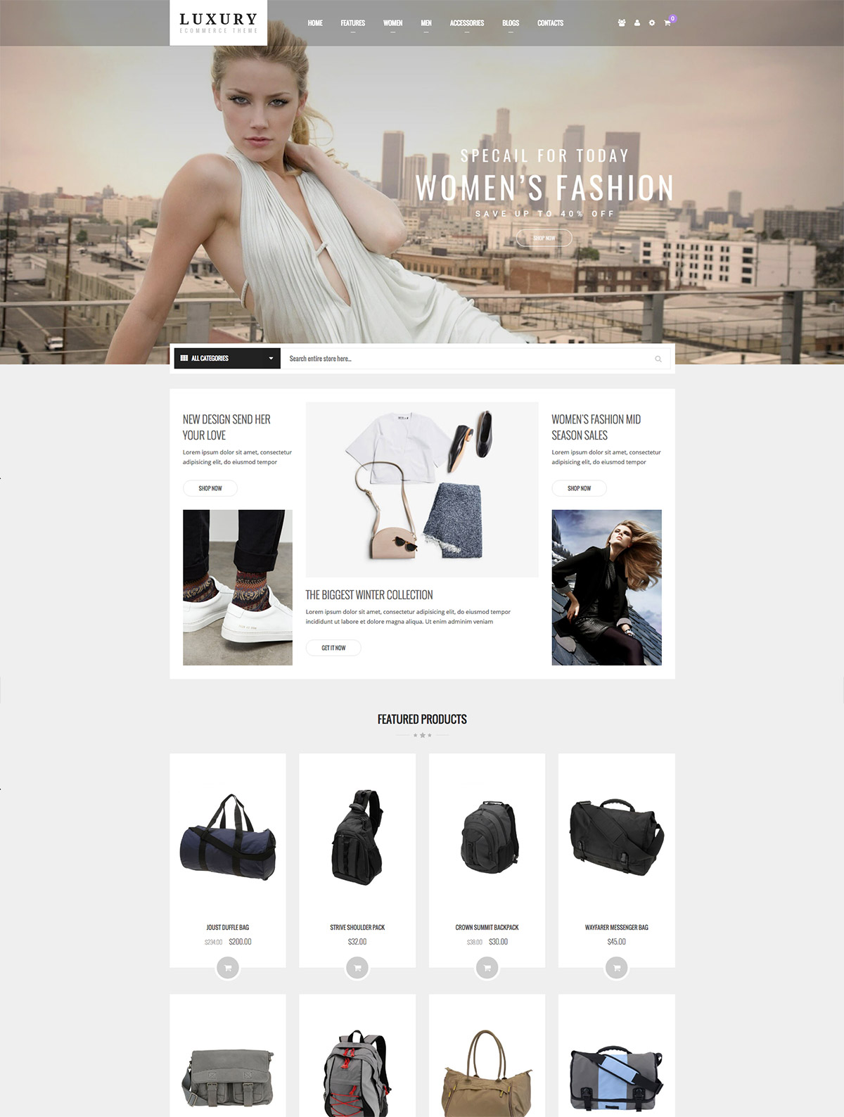 fashion ecommerce theme