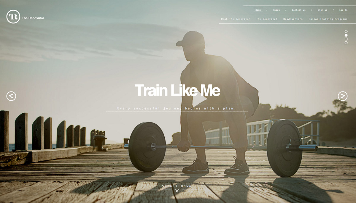 gym header web