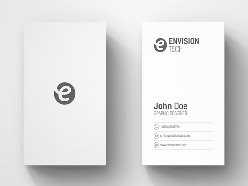 20 minimalistic business card designs for you to see naldz graphics