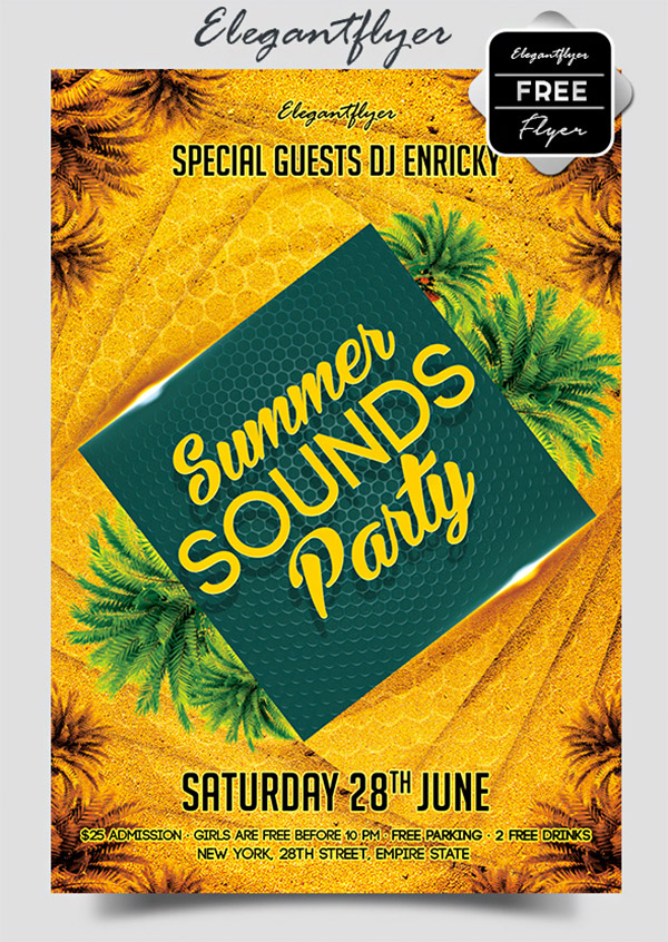 beach summer party