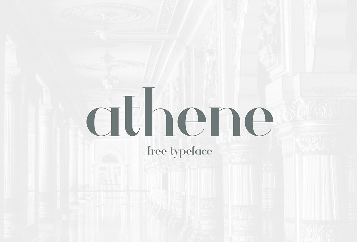 serif typeface commercial