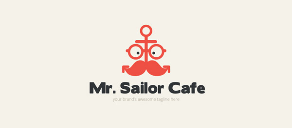 cafe  anchor logo