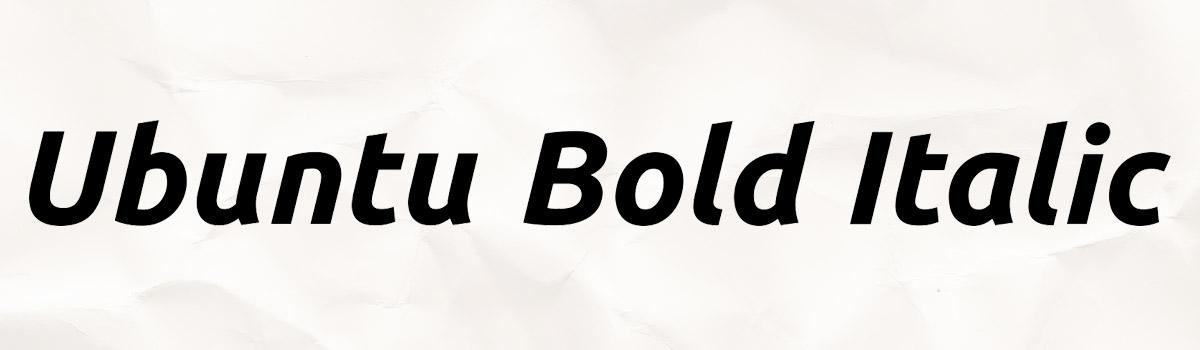bold italic design
