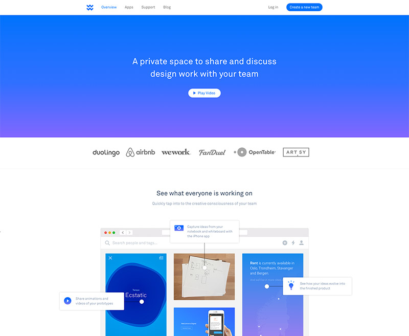 blue gradient theme