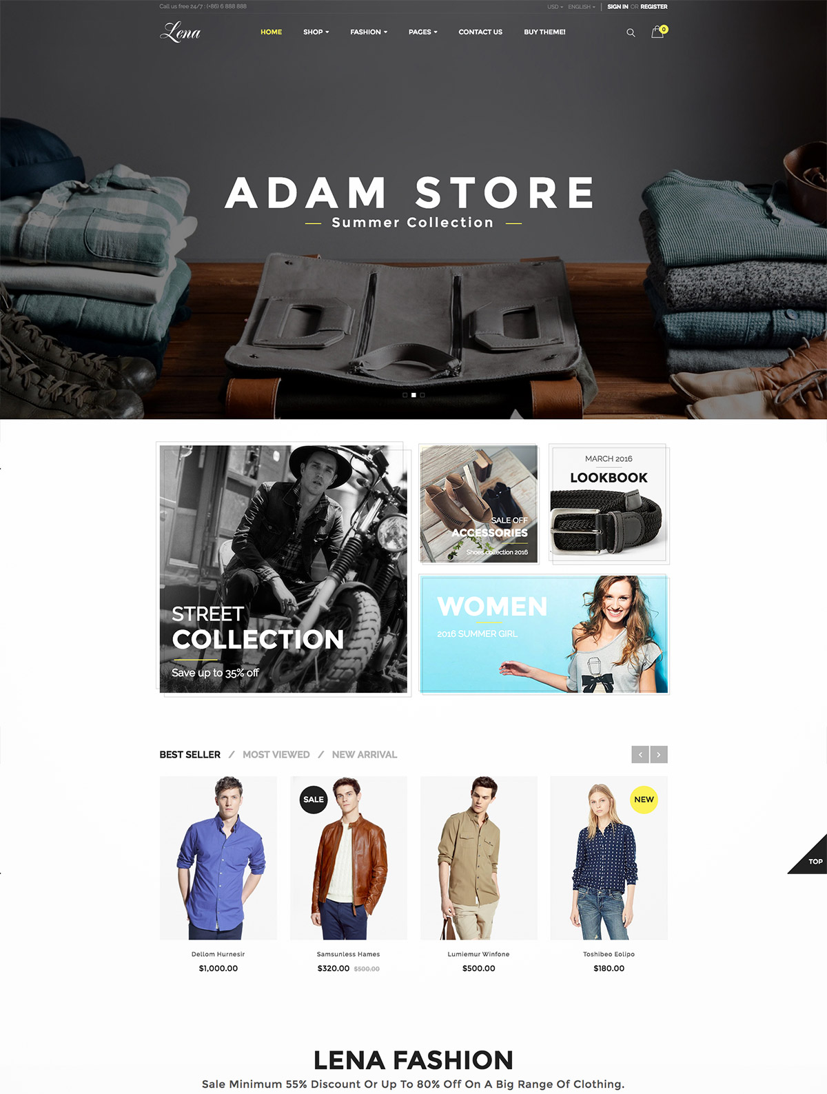 ecommerce template magento