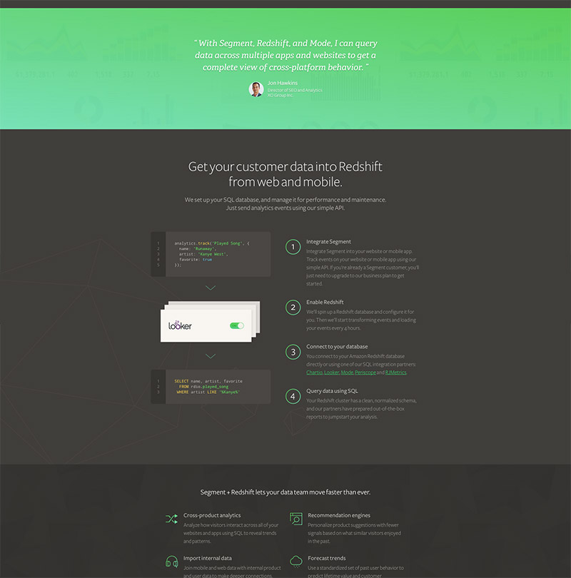 green website design
