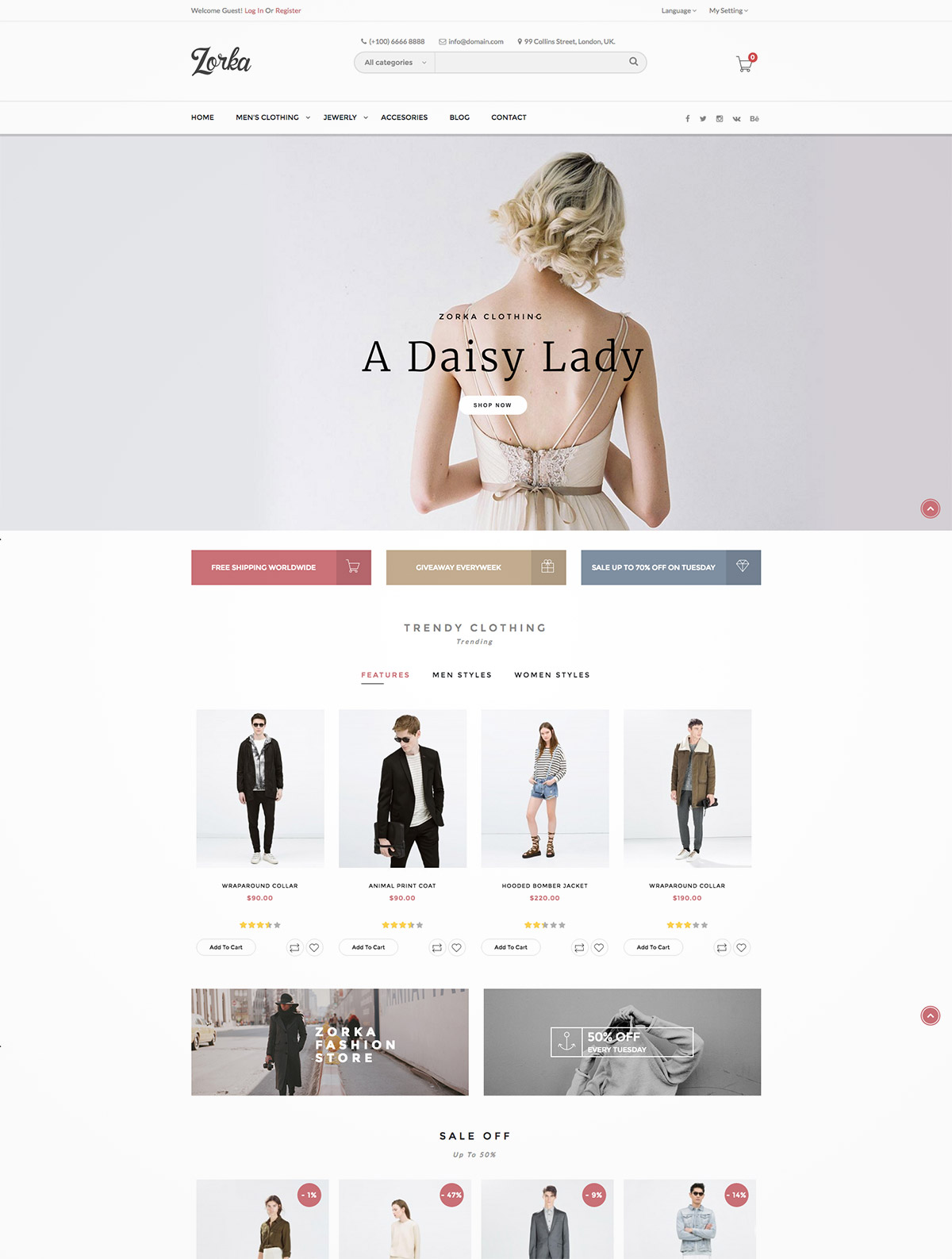 fashion ecommerce themes