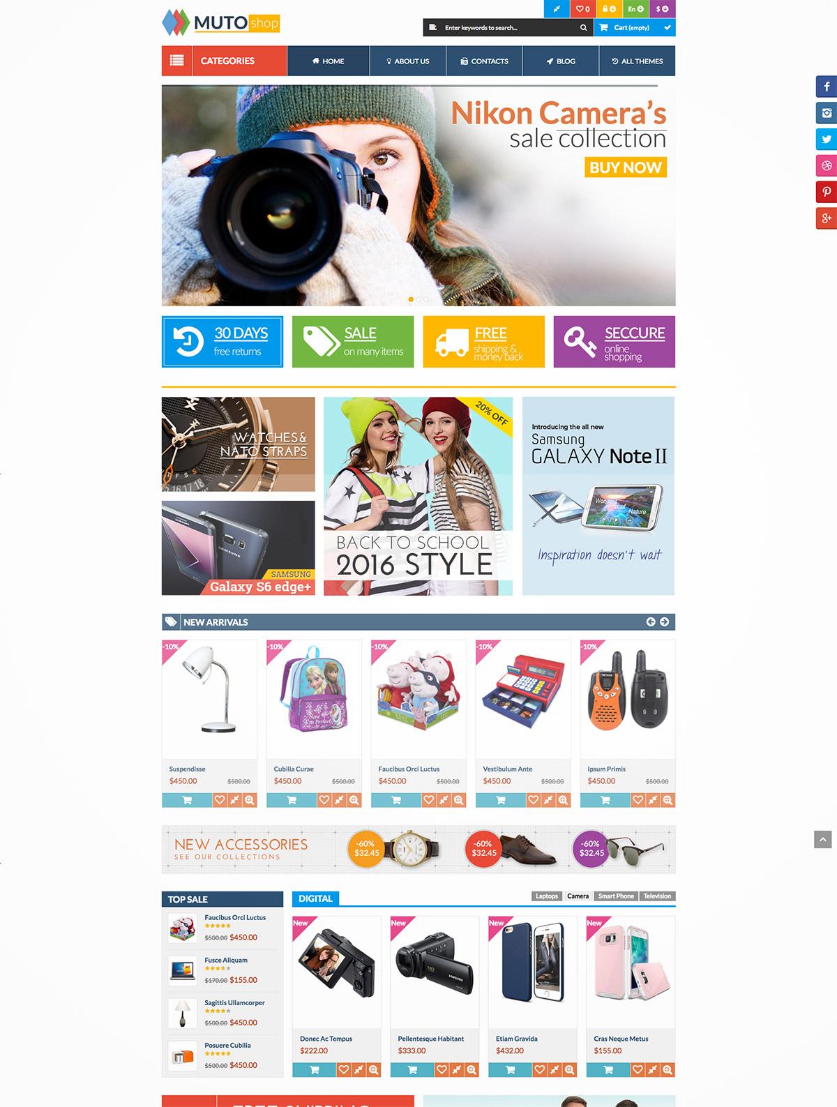 online shop magento