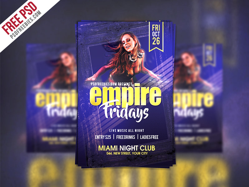 flyer template free - Free Psd Flyer Templates