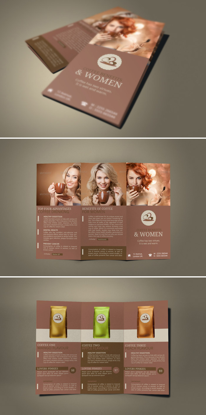 shop brochure designs