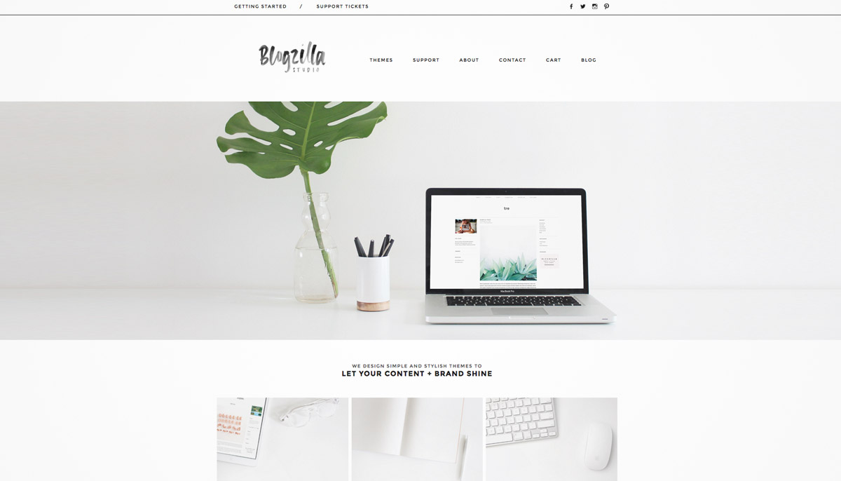 web theme studio