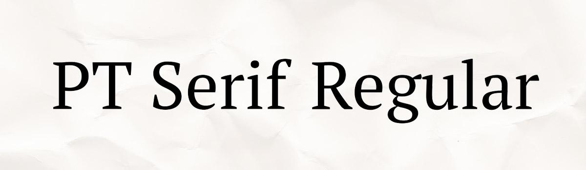 serif font design