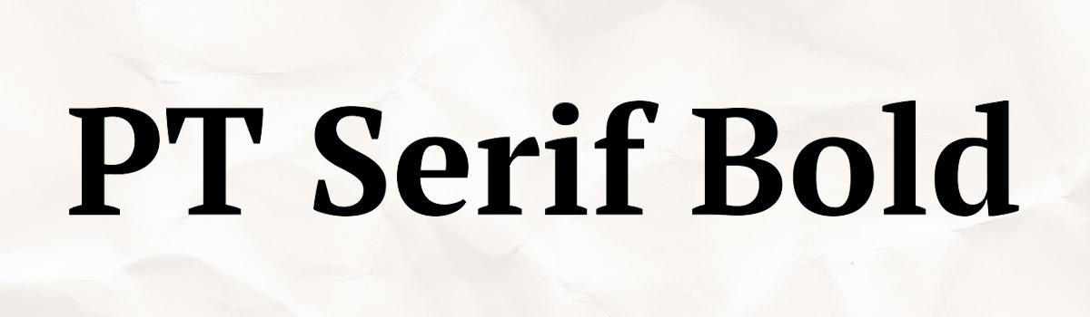bold typeface