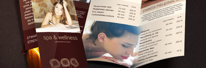 Collection Of Appealing Spa Brochure Design Ideas