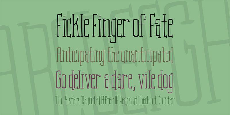 serif kids fonts