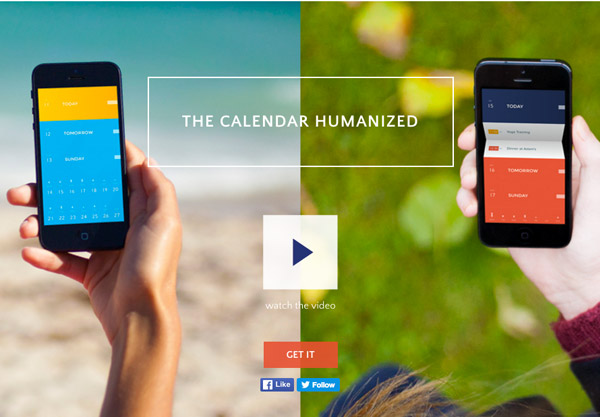 calendar website app