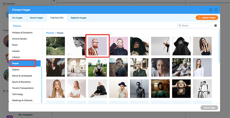 pick header image
