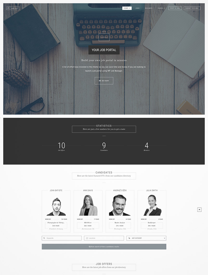 job portal wordpress