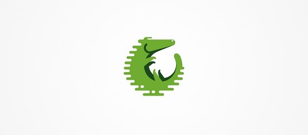 alligator logo design