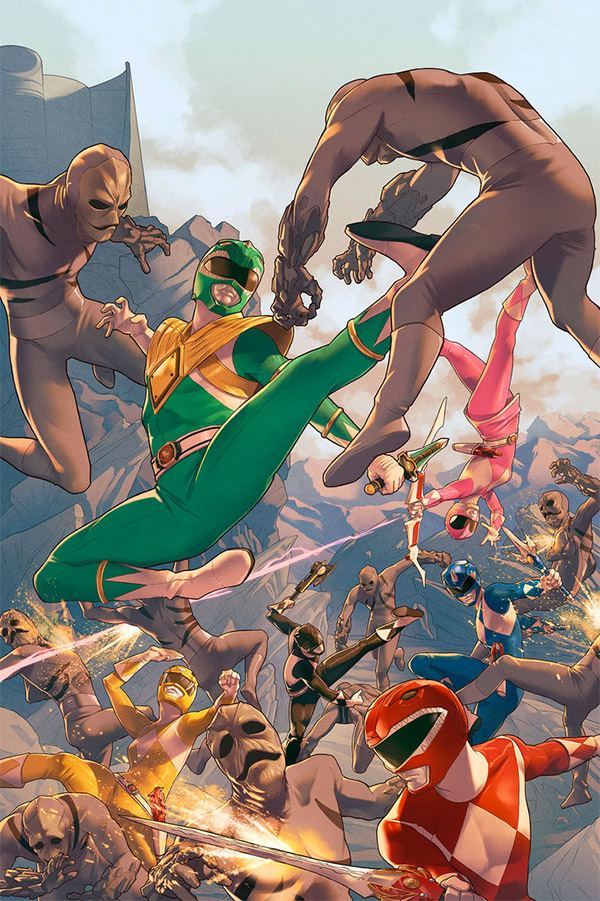 power rangers illustrations