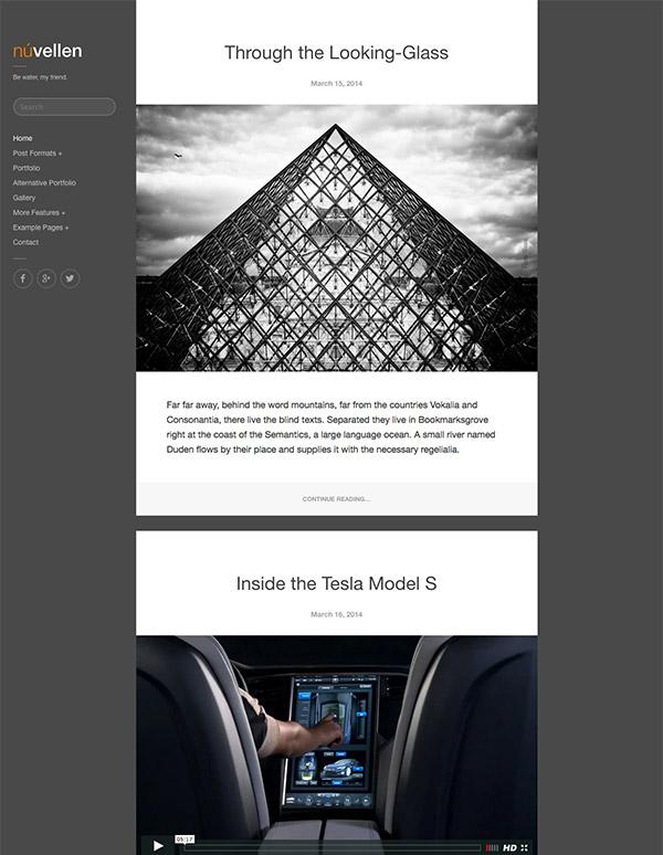 portfolio blog wordpress
