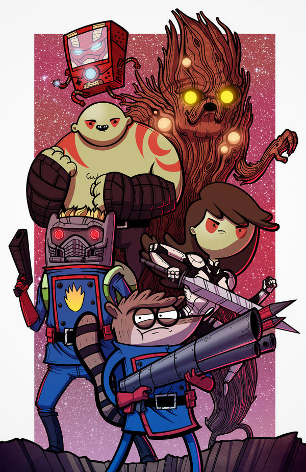 adventure time crossover