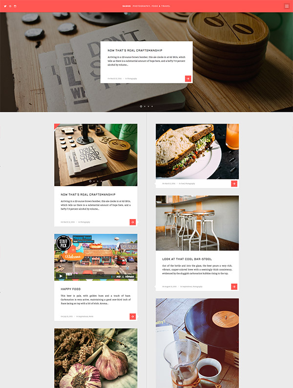 timeline wordpress theme