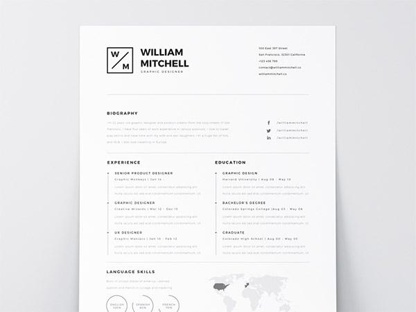 33 free resume cv templates to help you get your job naldz