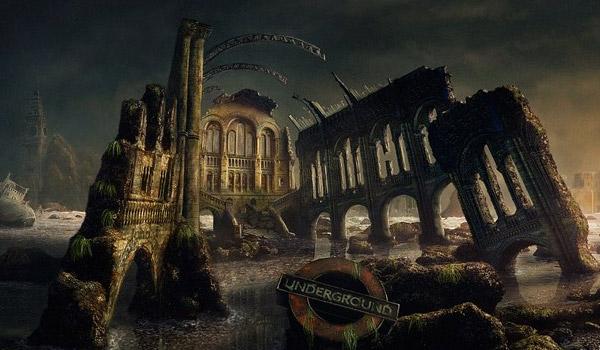 apocalypse scene painting