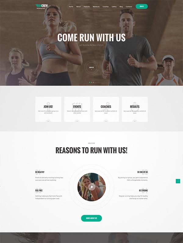 sports running club