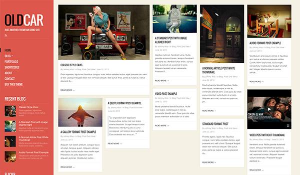 grid style blog
