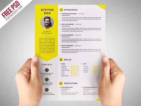 Create infographic resume free