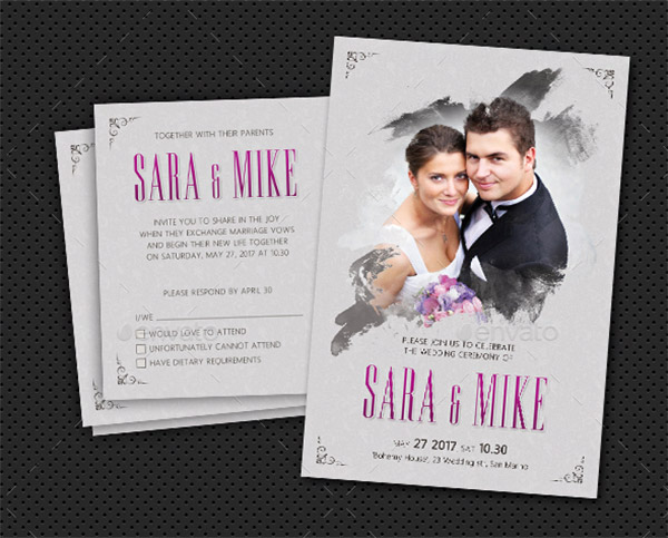 44 Wedding Invitation Templates That Will Make You Feel Special