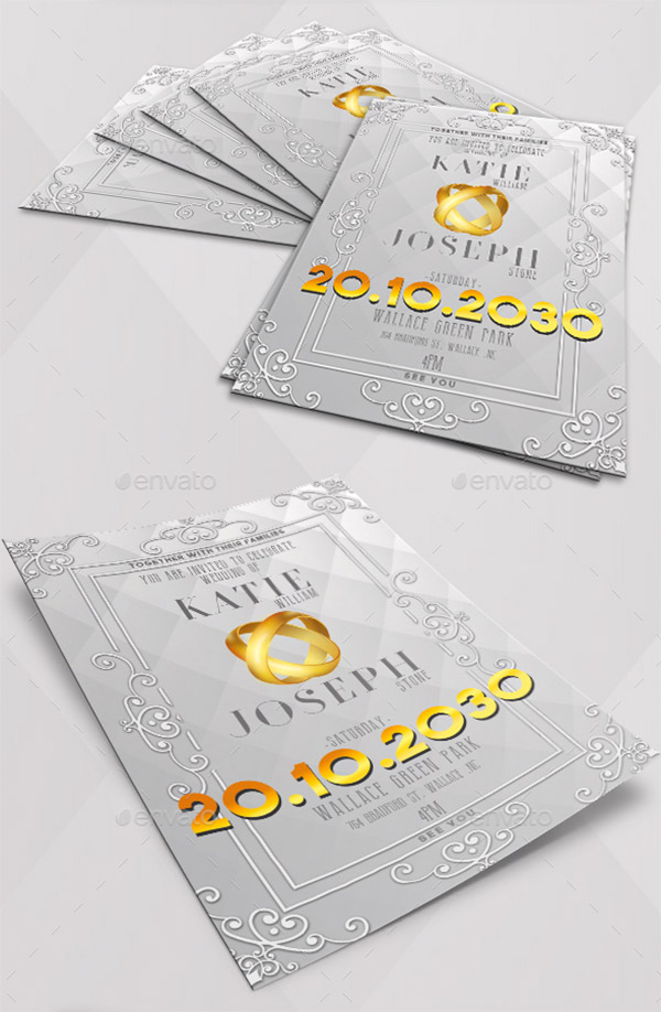 gold grey design