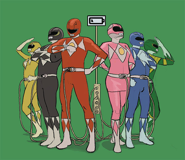 funny illustration rangers
