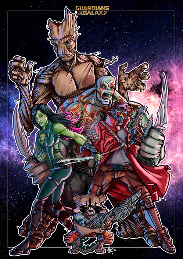 guardians tribute galaxy