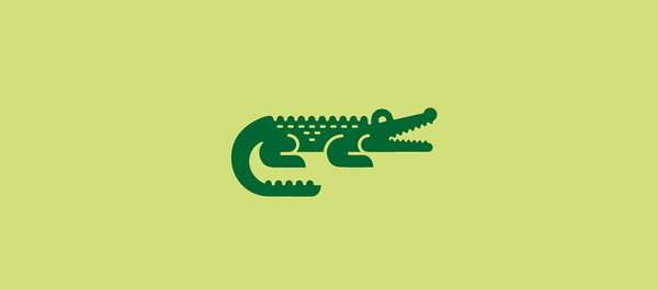 simple crocodile design