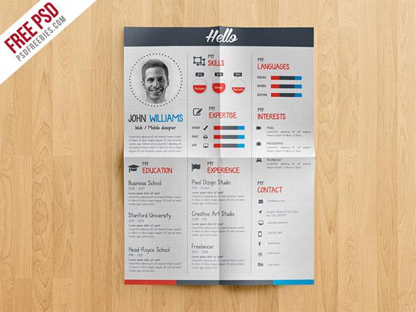 CV template free