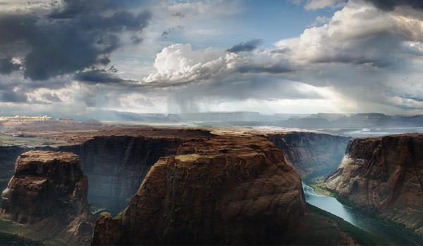 landscape digital painting
