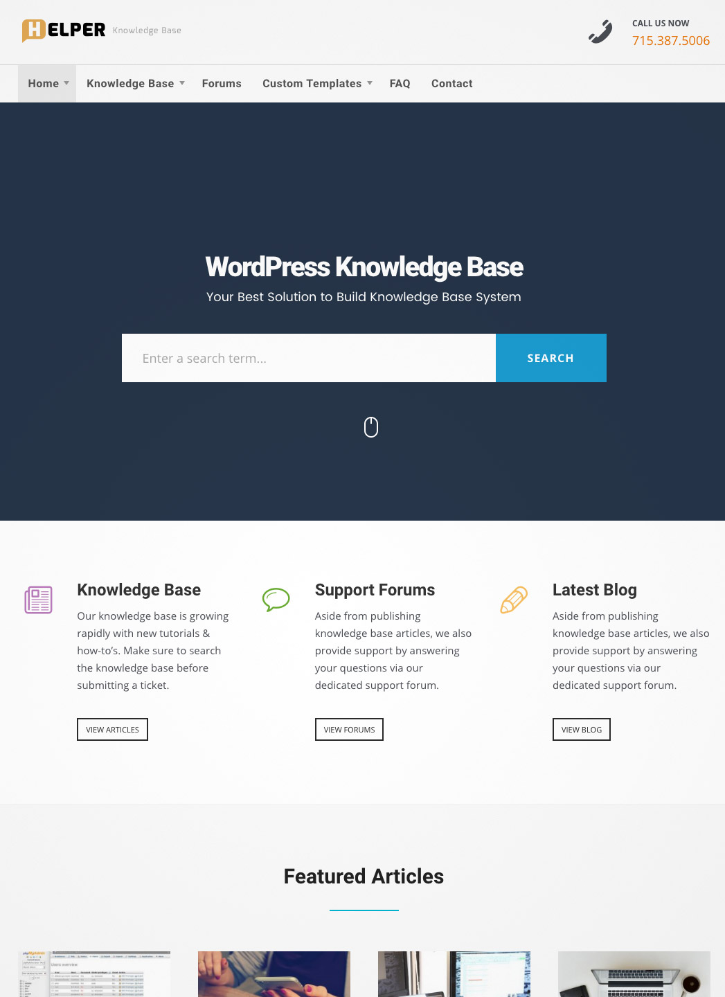 knowledge base support