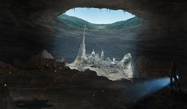underground city matte