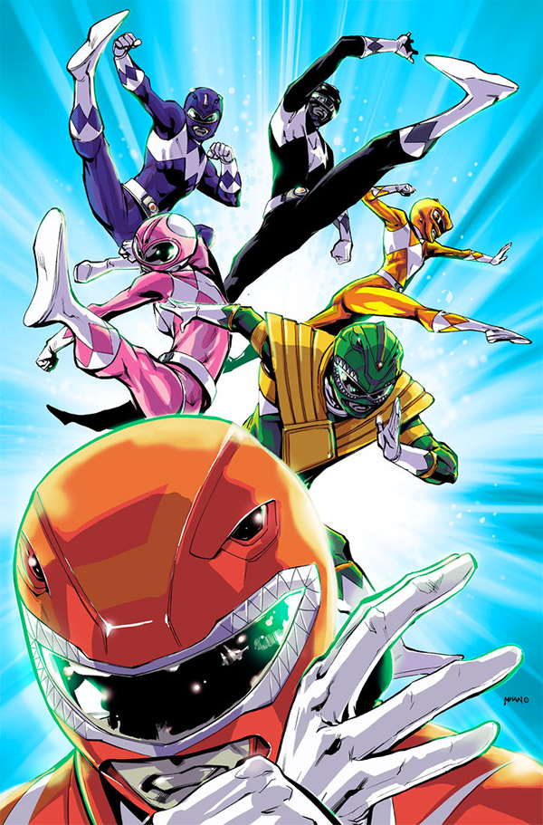 power rangers artwork