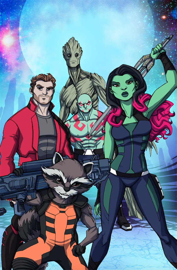 gotg illustrations