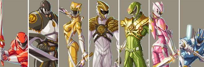 Amazing Power Rangers Artworks For Your Inspiration