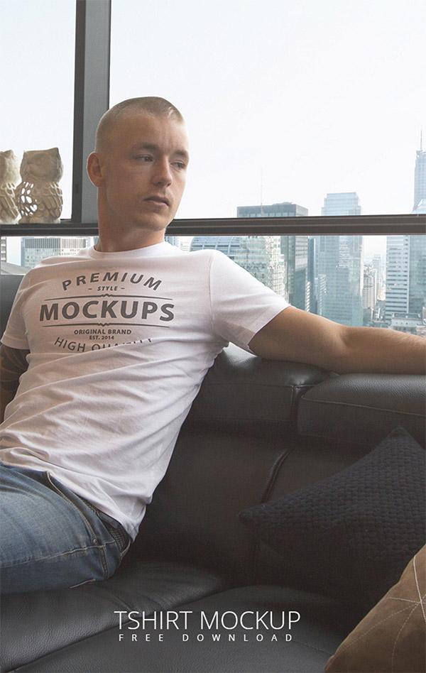 shirt psd mockup